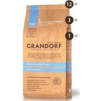 Grandorf All Breeds White Fish&Rice корм для собак всех пород с рыбой и рисом