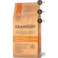 Grandorf Junior Lamb&Rice корм для щенков юниоров с 4 месяцев
