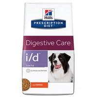 HILLS PD i/d low fat сухой корм для собак с желудочно-кишечными заболеваниями низкокалорийный