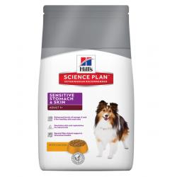 HILLS SP Корм для взрослых собак с чувствительным пищеварением и кожей Деликат