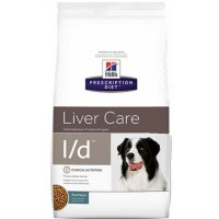 HILLS PD L/D сухой корм для собак с заболеваниями печени
