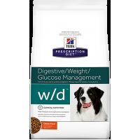 HILLS PD W/D сухой корм для собак с сахарным диабетом