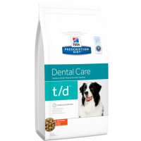 HILLS PD T/D сухой корм для собак с заболеваниями полости рта