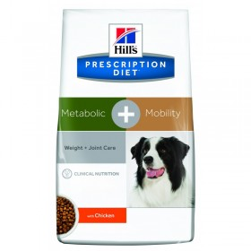 HILLS PD Meta+ mobility сухой корм хиллс для собак контроль веса + суставы