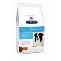 Hills PD Derm Defense защита кожи корм для взрослых собак всех пород курица индейка