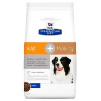 HILLS PD k/d+Mob сухой корм  для собак почки+ суставы