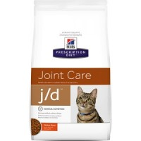 HILLS PD J/D сухой корм для взрослых кошек заболевания суставов