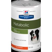 Hills PD Metabolic Meta консервы для коррекции веса собак