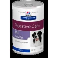 Hills PD i/d Low fat консервы для собак для пищеварительного тракта низкокалорийный 360г