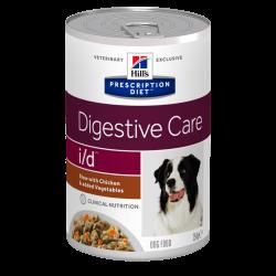 HILLS PD i/d корм для собак для пищеварительного тракта рагу из курицы 360г