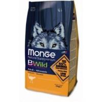 Monge BWild Dog GRAIN FREE Ostrich корм для взрослых собак всех пород с мясом страуса