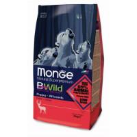 Monge BWild Dog GRAIN FREE Deer корм для щенков с олениной