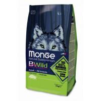 Monge BWild Dog GRAIN FREE Boar корм для собак с мясом дикого кабана