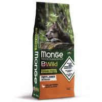 Monge BWild Dog GRAIN FREE Puppy&Junior беззерновой корм из мяса утки с картофелем для щенков всех пород