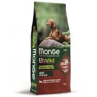 Monge BWild Dog GRAIN FREE Lamb беззерновой корм для собак всех пород ягненок, картофель и горох
