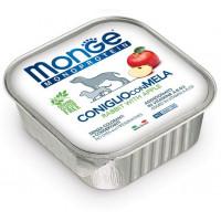 Monge Dog Monoprotein Fruits консервы для собак паштет из кролика c яблоками