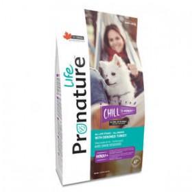 Pronature Лайф Чилл сухой корм для собак с индейкой