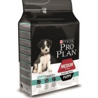 Проплан Dog OPTIDIGEST корм для щенков средних пород чувствительное пищеварение ягненок