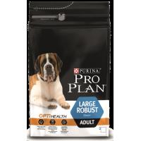 Проплан Dog OPTIHEALTH Robust корм для взрослых собак крупных пород мощного телосложения курица рис