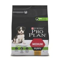Проплан Dog OPTISTART корм для щенков средних пород курица рис