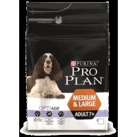 Проплан Dog OPTIAGE для собак старше 7 лет средних и крупных пород курица