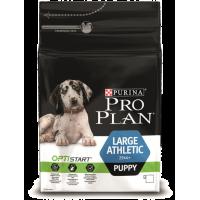 Проплан Dog ATHLETIC OPTISTART корм для щенков крупных пород атлетического телосложение курица