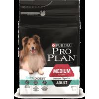 Проплан Dog OPTIDIGEST корм для собак средних пород ягненок чувствительное пищеварение