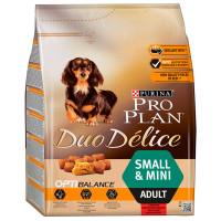 Проплан Dog DUO DELICE корм для собак мелких и карликовых пород курица