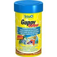 TetraGuppy Colour корм для гуппи (и всех живородящих рыб) для улучшения окраса хлопья
