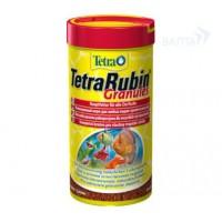 TetraRubin корм в гранулах для улучшения окраса всех видов рыб