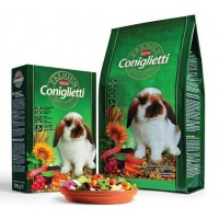 Padovan Корм PREMIUM Coniglietti для кроликов и молодняка  500г