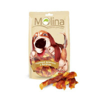 MOLINA Лакомство для собак Куриные рулетики с бататом, 80г