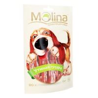 MOLINA Лакомство для собак Утиная грудка 80гр