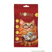 """MOLINA Витаминизированное Лакомство для кошек МИКС """"Мышки"""" 35г"""
