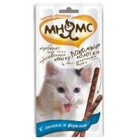 Pro Pet Мнямс лакомые палочки для кошек с лососем и форелью 13,5 см, 3 х 5 гр. 0031