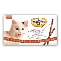 Pro pet мнямс лакомые палочки 13,5 см для кошек с говядиной и печенью 10х5 г