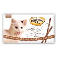 Pro pet мнямс лакомые палочки 13,5 см для кошек с индейкой и ягненком 10х5 г