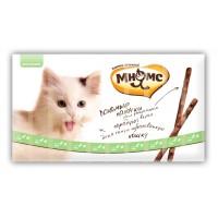 Pro pet мнямс лакомые палочки 13,5 см для кошек с уткой и кроликом 10х5 г