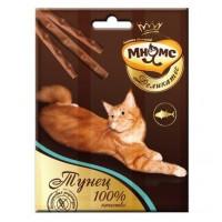Мнямс Деликатес лакомые палочки 9 см для кошек с тунцом 3х4г