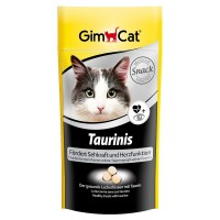 """Gimcat Лакомство витаминизированное """"Тауринис"""" с таурином для кошек, 40гр"""