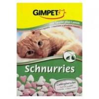 """Gimpet Витаминизированное лакомство для кошек """"Сердечки"""" с ягненком, 650 шт (420гр)"""