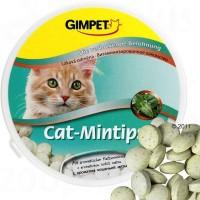 """Gimpet Витаминизированное лакомство """"Cat-Mintips"""" с кошачьей мятой для кошек 200 гр (330шт)"""