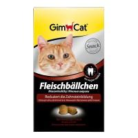 Gimcat Шарики мясные для очистки зубов для кошек, 100 гр.
