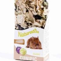 Cunipic Naturaliss Delicious Rabbit лакомство для кроликов Белая и красная капуста 60гр.