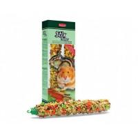 Padovan Лакомства STIX FLAKES criceti палочки овощные для хомяков и бурундуков 2* 100г