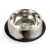 Triol Миска для животных металлическая на резинке 0,20л
