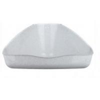 ZooM Туалет для грызунов угловой пластик 16*9*8,5 см.
