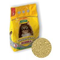 Сибирская кошка наполнитель Ультра минеральный впитывающий