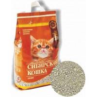 Сибирская кошка наполнитель для котят минеральный впитывающий