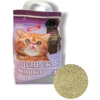 Сибирская кошка наполнитель СУПЕР для котят  минеральный комкующийся (Иркутск)